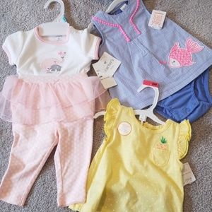 NWT 6m outfits